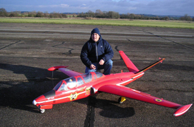 Kit FOUGA MAGISTER 1/3 DAVE STEPHENS - Jet radio-commandé - Aviation Design